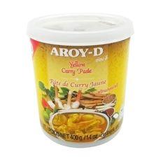 "Паста Карри желтая ""Aroy-D"" 0,4 кг"