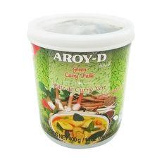 """Паста Карри зеленая """"Aroy-D"""" 0,4 кг"""