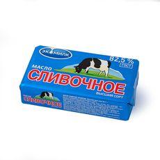 """Масло сливочное """"ЭКОМИЛК"""" 82,5%  180 гр."""