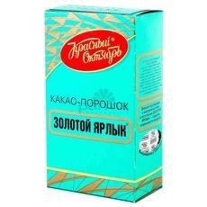"""Какао Порошок темный """"Золотой ярлык"""" 0,100 кг"""
