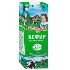 """Кефир """"Домик в деревне"""" 3,2% 1 л"""