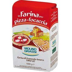 Мука из мягких сортов пшеницы для пиццы Молино Грасси 1 кг.