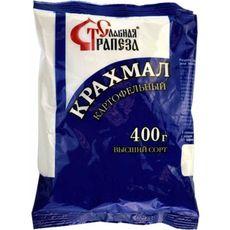 """Крахмал картофельный """" Славная трапеза """" 0,4 кг"""