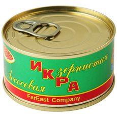 Икра лососевая ж/б 0,14 кг