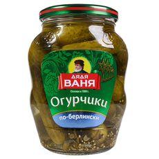 """Огурцы маринованые """"Дядя Ваня"""" по Берлинский 680 мл ст/б"""
