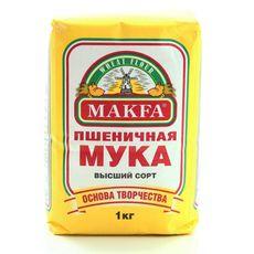 """Мука Пшеничная """"Макфа"""" в/с 1 кг"""