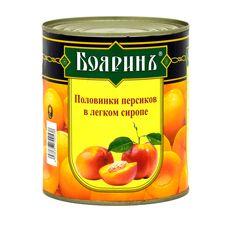 "Персики половинки в сиропе ""Боярин"" 3100 мл ж/б"