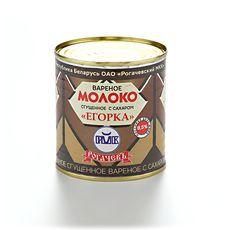 """Молоко сгущенное вареное """"Егорка"""" 360 г ж/б"""
