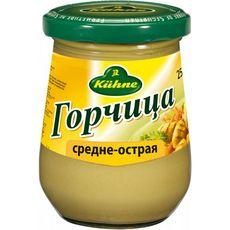 """Горчица средне-острая """"Kuhne"""" 0,25 кг"""