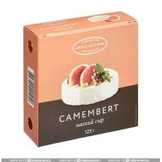 Сыр Камамбер Блан с плесенью 50% 125 гр.
