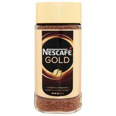"""Кофе """"Нескафе Голд"""" 190 г (стекло)"""