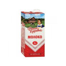 Молоко Домик в деревне  6% 0,95 л