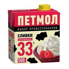 """Сливки """"Петмол"""" 33% 0,5 л"""