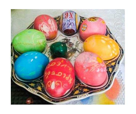 Натуральные красители для пасхальных яиц. Идеи украшений